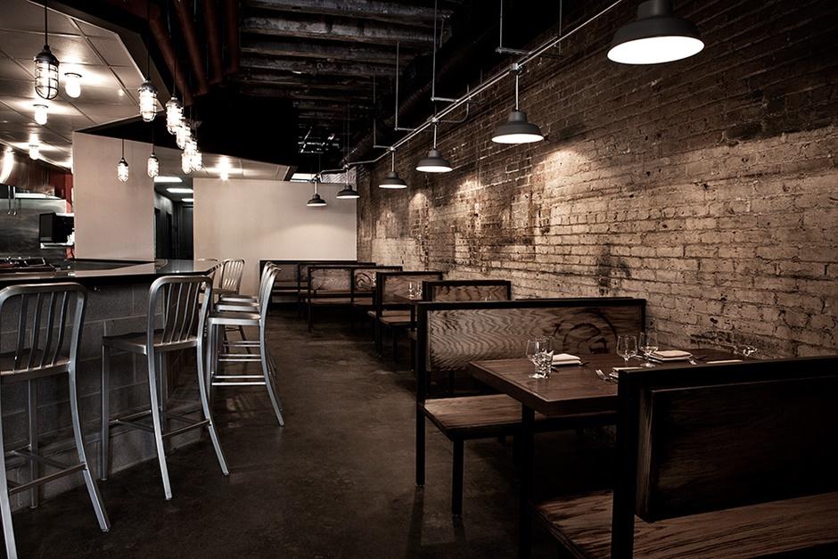 Graffiato Dining Area Downstairs
