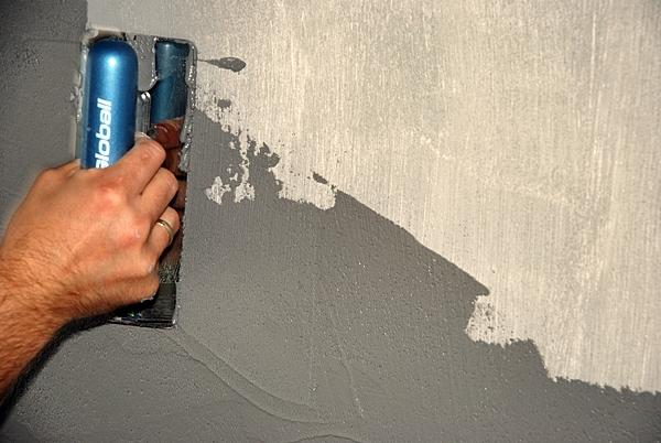 nakładanie betonu