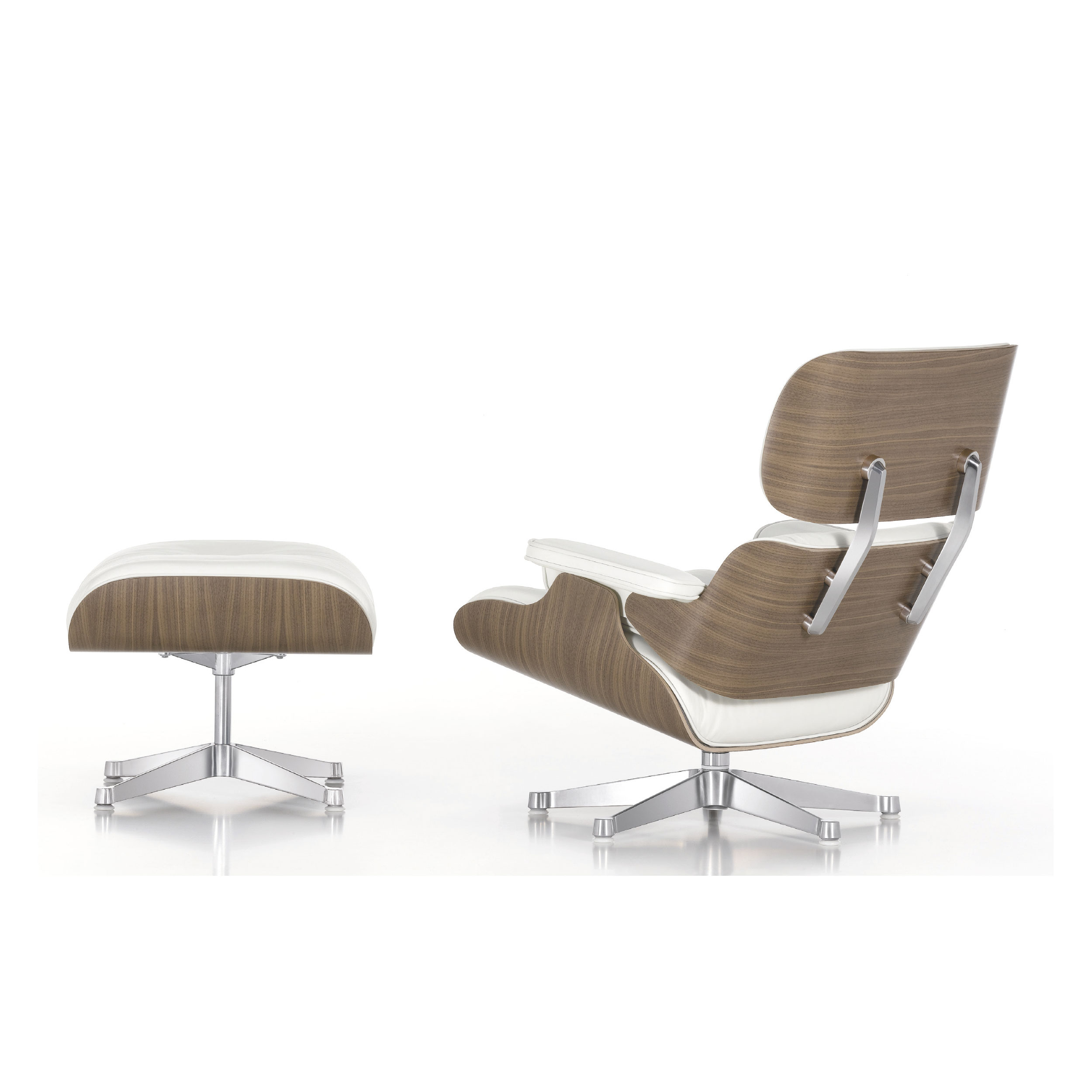 Furniture witching eames white lounge chair ottoman for for Beautiful furniture