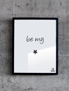 plakat-120-be-my-star-280