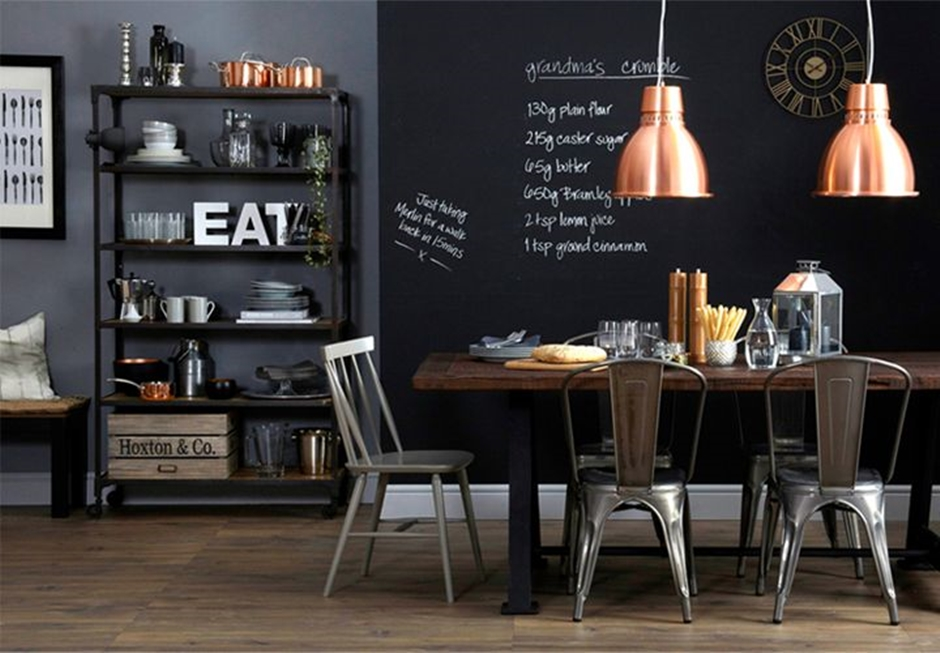 10 Jadalni W Industrialnym Stylu 10 Awesome Industrial Dining