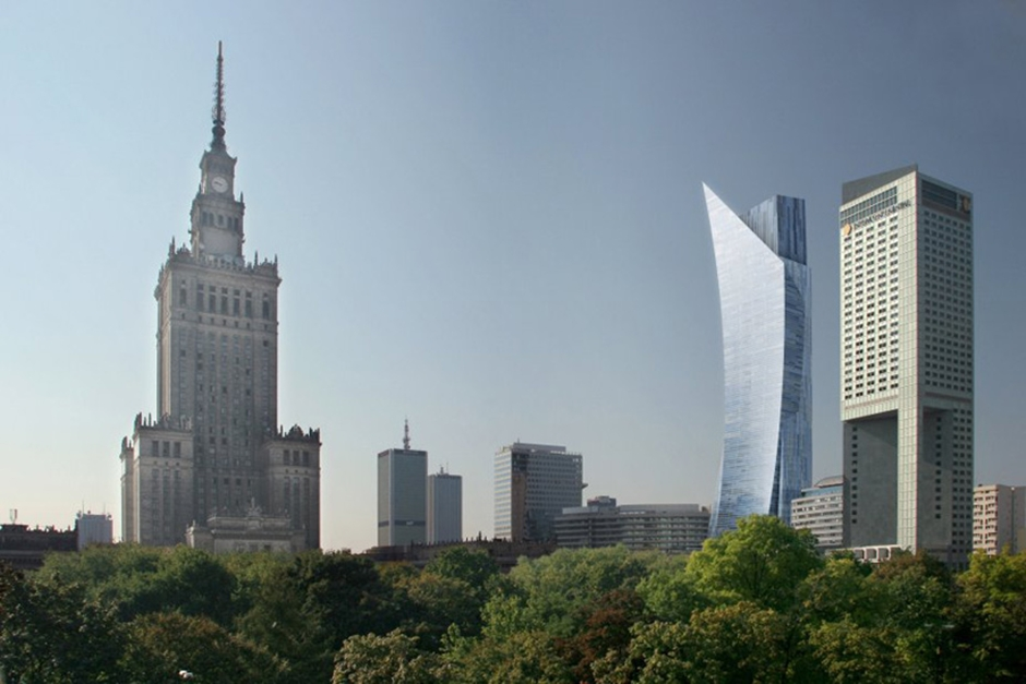 zlota 44 europe's highest residential tower