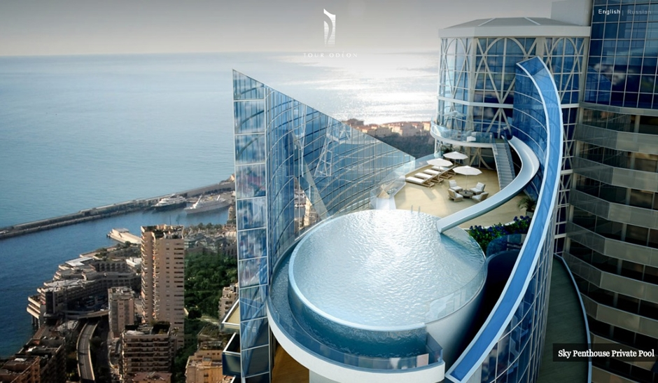 Monaco-Penthouse-outdoor-rooftop-infinity-pool-with-ocean-views