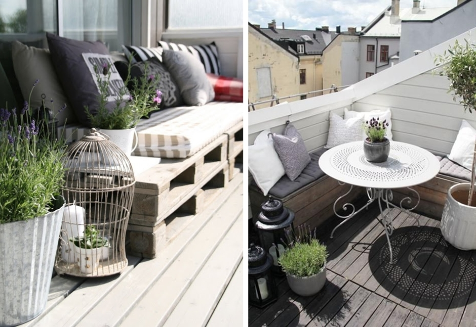 10 pomysłów na mały balkon. //10 ideas for small patio ...