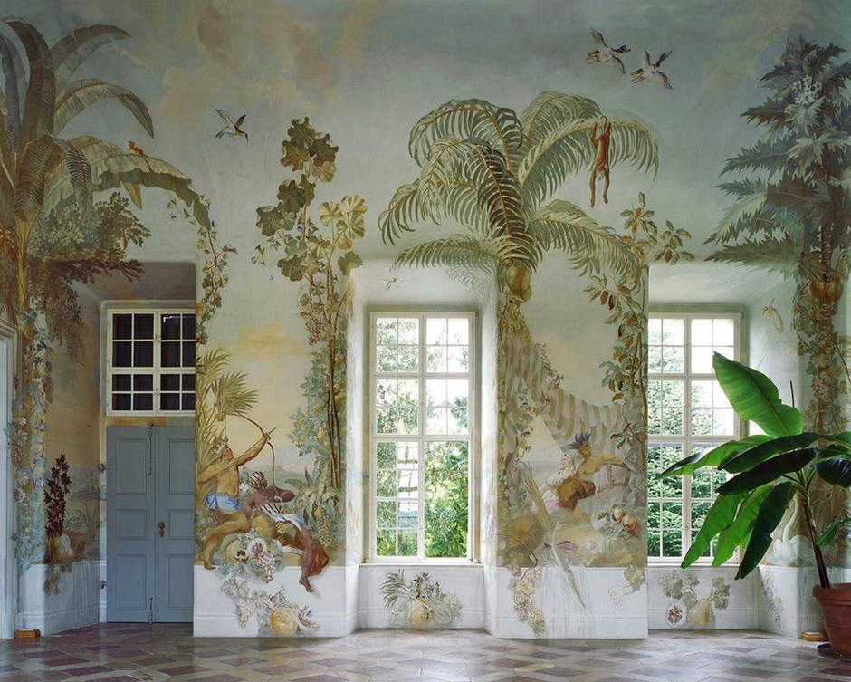 Gartenpavillon-Stift-Melk-Wall-murals-by-Johann-Baptist-Wenzel-Bergl-Photo-Margherita-Spiluttini-Yellowtrace-15