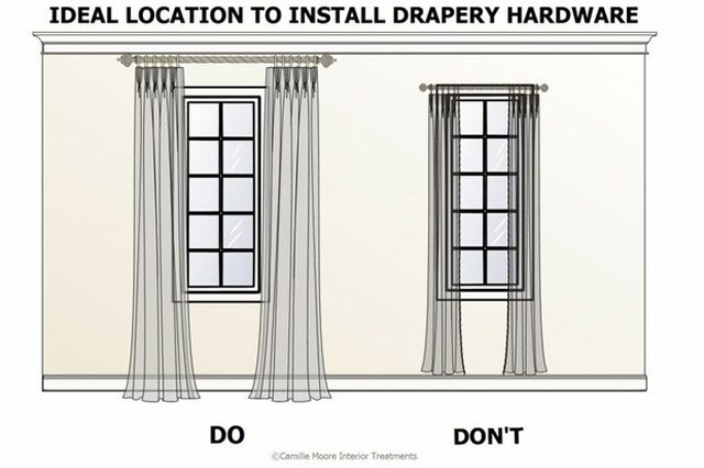 how-to-hang-curtains-visual-ehow